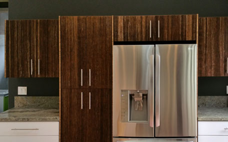 Eco-friendly RTA Bamboo Cabinets 2