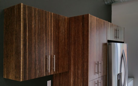 Eco-friendly RTA Bamboo Cabinets 3
