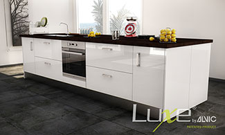 Luxe by Alvic Kitchen and Bathroom Cabinets