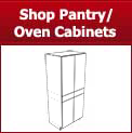 Shop Cleaf French Grey RTA Pantry/Oven Cabinets