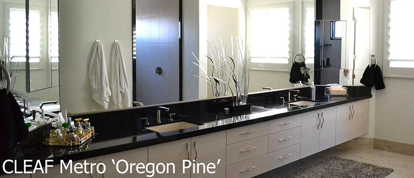 Cleaf Metro Oregon Pine Vanity