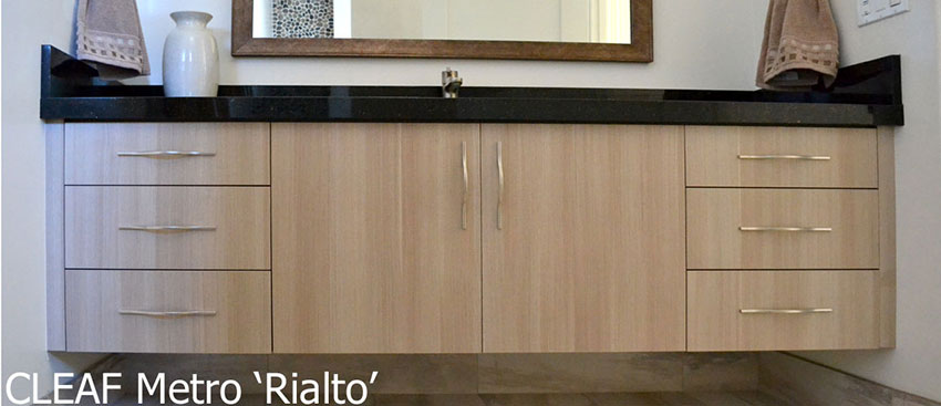 Cleaf Metro Rialto Slab Floating Vanity