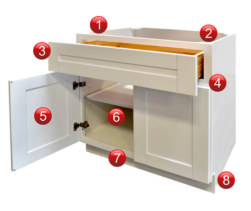 imported rta cabinets typically feature face frame construction but vary in joinery methods and other construction details explore the cabinet below to - Cabinet Pics