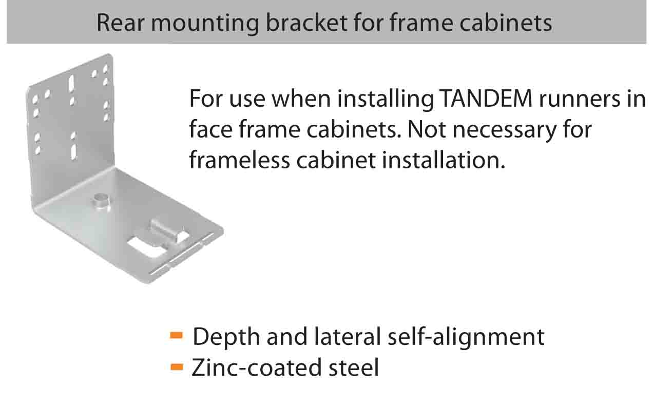 Blum TANDEM 563H Rear Mounting Bracket