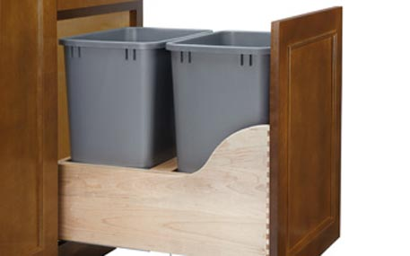 Rev A Shelf Trash Pullout