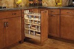 Soft Close Base Cabinet Organizer (Spice Rack)
