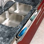 Stainless Steel Sink Tip-Out Tray